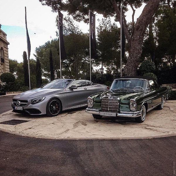 Mercedes-Benz Old & New